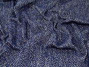 Wool Coating Fabric  Blue