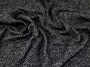 Wool Coating Fabric  Charcoal
