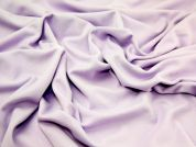 Stretch Double Jersey Dress Fabric  Lilac