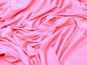 Polyester Drapey Stretch Jersey Dress Fabric  Shocking Pink
