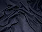 Stretch Double Jersey Dress Fabric  Black