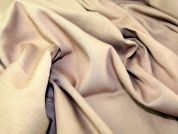 Poly Rayon Suiting Dress Fabric  Tan