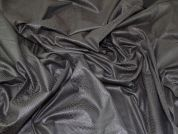 Coated Jersey Knit Fabric  Brown