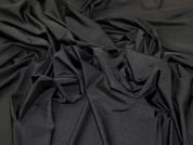 Swimwear Jersey Knit Fabric  Black