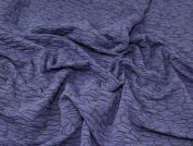 Textured Jersey Knit Fabric
