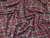 Woven Plaid Check Cotton Lawn Dress Fabric