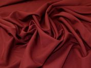 Polyester Suiting Fabric  Burgundy