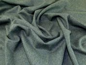 Wool Coating Fabric  Green Heather