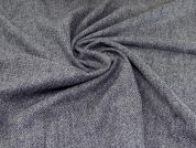 Wool Coating Fabric  Blue Grey