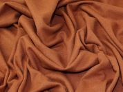 Heavy Wool Knit Fabric  Ginger