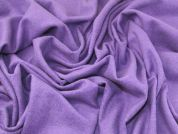 Heavy Wool Knit Fabric  Purple
