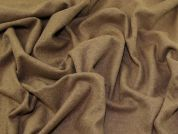 Heavy Wool Knit Fabric  Brown
