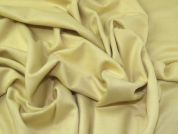 Wool Blend Coating Fabric  Lemon Yellow