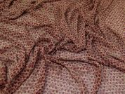 Polyester Chiffon Fabric  Wine