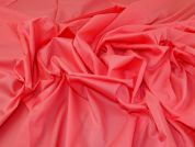 Cotton Voile Fabric  Coral