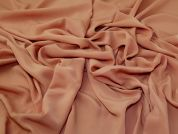 Washed Crepe Fabric  Peach