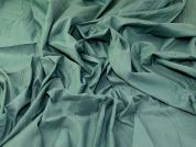 Crinkle Cotton Shirting Fabric  Mint
