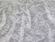 Stretch Lace Knit Fabric  Cream