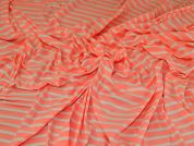 Cotton Jersey Knit Fabric  Coral