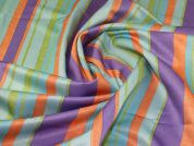 Sateen Suiting Fabric  Multicoloured