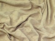 Chenille Knit Fabric  Sand