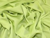 Polyester Crepe Fabric  Citrus Green