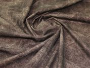 Faux Suede Fabric  Brown