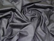 Stretch Cotton Sateen Fabric  Grey