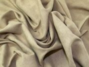 Faux Suede Fabric  Beige