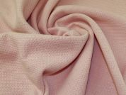 Wool Blend Coating Fabric  Pastel Pink