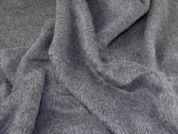 Textured Fur Coating Fabric  Grey