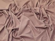 Textured Surface Drapey Stretch Jersey Knit Dress Fabric  Dusty Pink