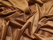 Velour Knit Fabric  Ginger
