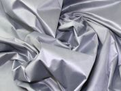 Stretch Cotton Sateen Fabric  Silver Grey