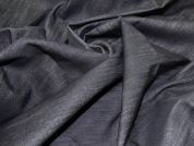 Selvedge Denim Fabric  Black