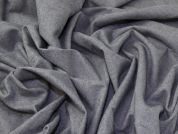 Flannel Suiting Fabric  Grey