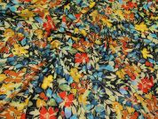 Crepe Jersey Knit Fabric  Multicoloured