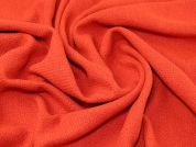 Wool Blend Coating Fabric  Tomato