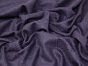 Wool Blend Coating Fabric  Purple