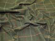 Wool Blend Coating Fabric  Green