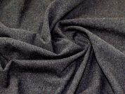 Wool Blend Coating Fabric  Grey Heather