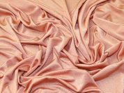 Crepe Jersey Knit Fabric  Peach