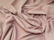 Plain Scuba Crepe Stretch Jersey Knit Dress Fabric  Light Rose Pink