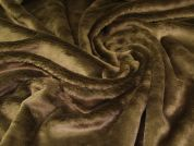 Faux Fur Fabric  Brown