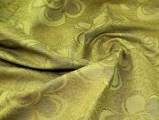 Chenille Fabric  Olive Green
