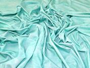 Viscose Jersey Fabric  Mint Green