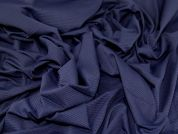 Textured Jersey Fabric  Navy Blue