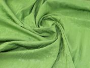 Crinkle Shirting Fabric  Lime Green