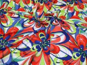 Viscose Jersey Fabric  Multicoloured