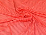 Sweater Knit Fabric  Coral